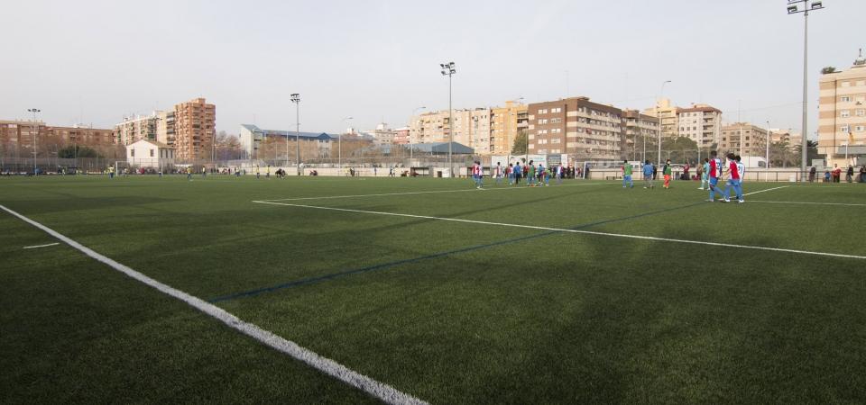 dónde jugar al fútbol en valencia
