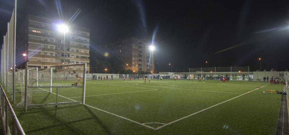 Camp de f tbol malilla fundaci n deportiva municipal - Campo de futbol del valencia ...