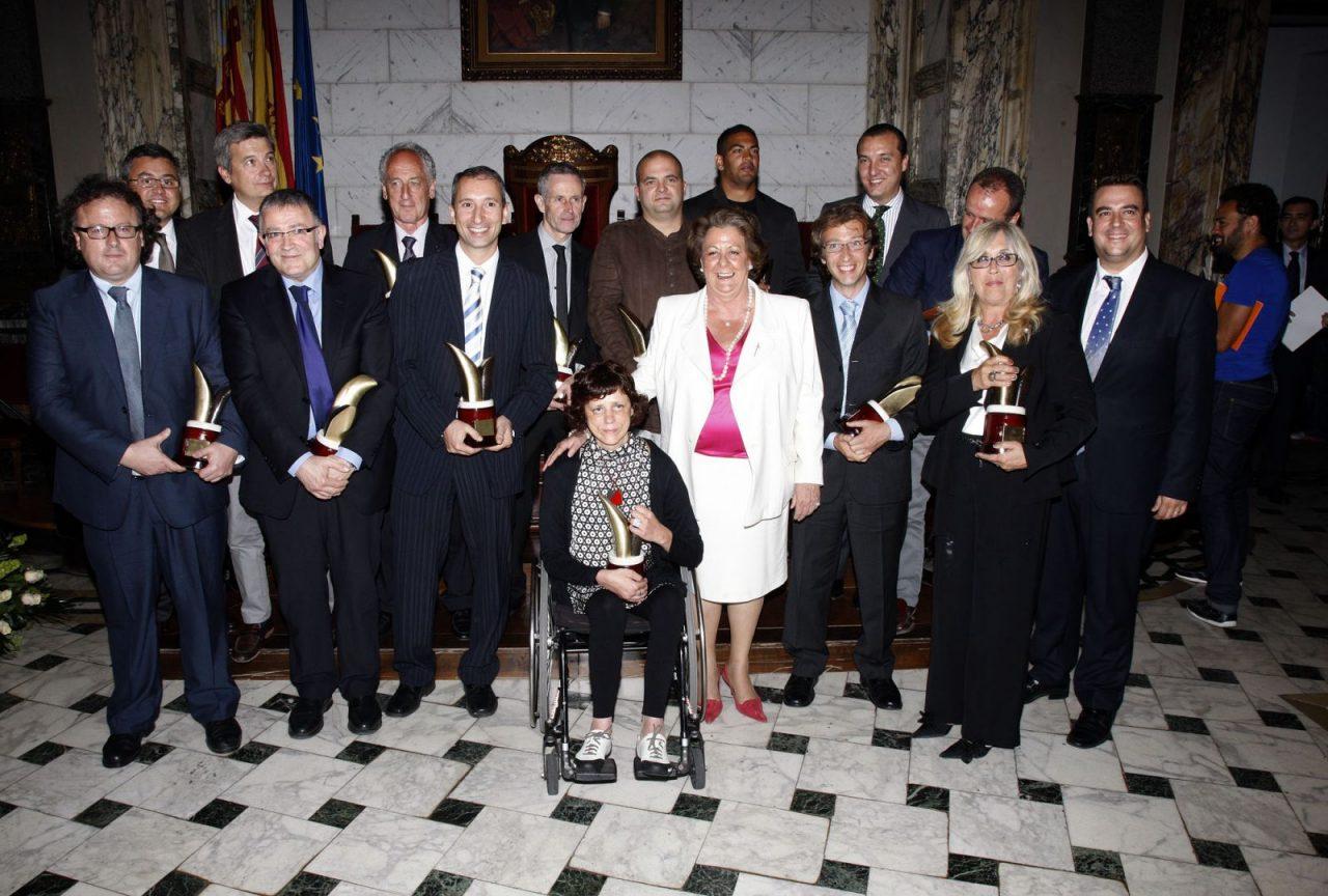 Premios al mérito deportivo 2011 Valencia