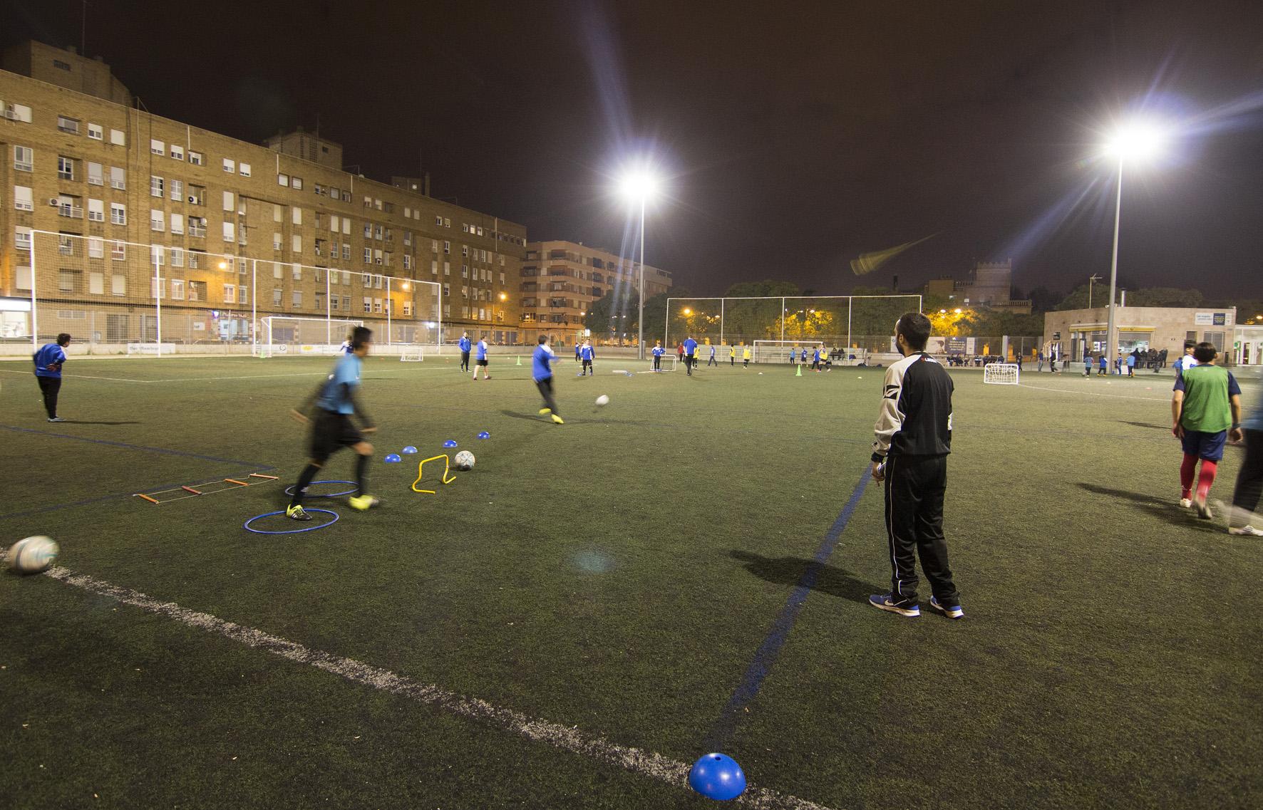 Campo de f tbol malvarrosa 5 fundaci n deportiva - Campo de futbol del valencia ...