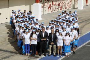 Voluntarios en la F1