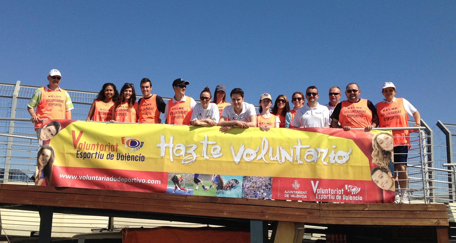 Voluntarios MGS de Vela en Valencia