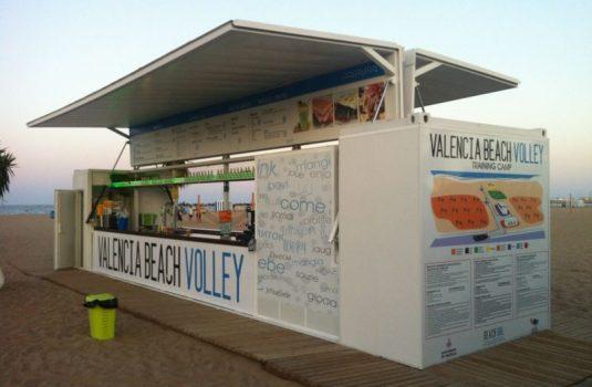 Instalación de Vóley Playa Valencia