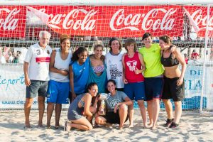 deporte valencia, futbol playa, xx futbol playa ciudad de valencia, las arenas, futbol playa