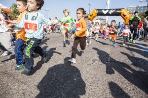 MiniMaratón y Juegos Deportivos Municipales hacen protagonistas del Maratón a los más pequeños