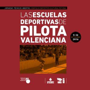 """Programa de la jornada """"Les Escoles Esportives de Pilota Valenciana"""""""