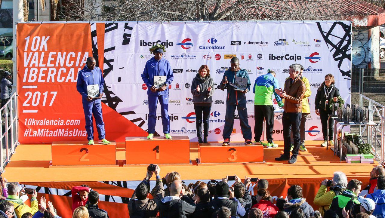 Kenia lidera la élite del 10K Valencia Ibercaja junto a Juan Carlos de la Ossa
