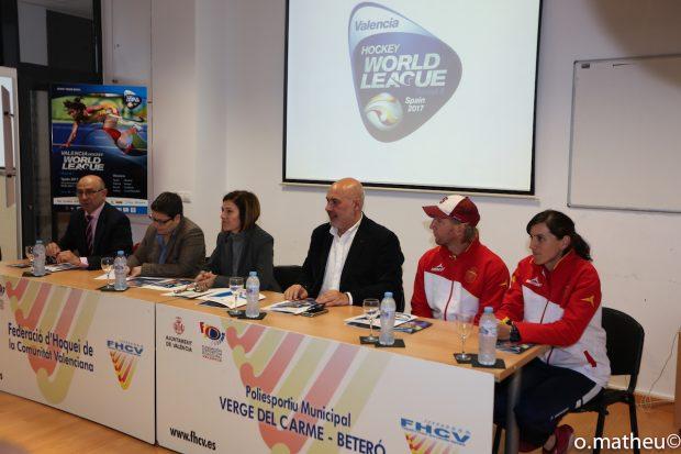 Presentación de la World League Hockey