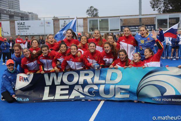 La selección española tras ganar el torneo