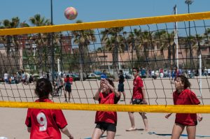 Fiesta final Voley-Playa en verano