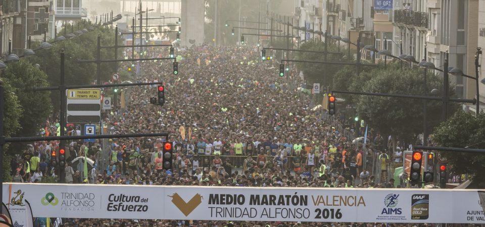 Mitja Marató València Trinidad Alfonso EDP 2017