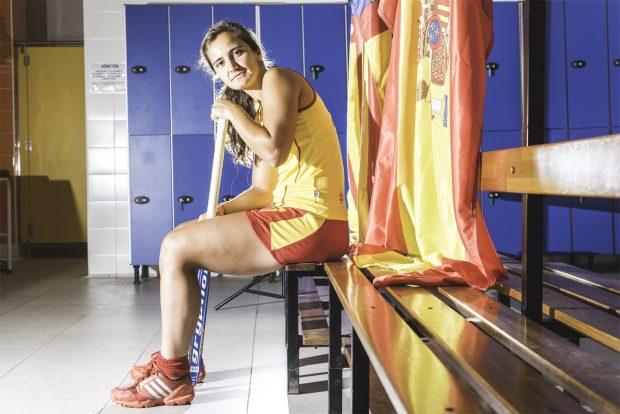 Lola Riera Zuzuarregui del Spv Complutense d'Hoquei, com l'Esportista Més Destacada