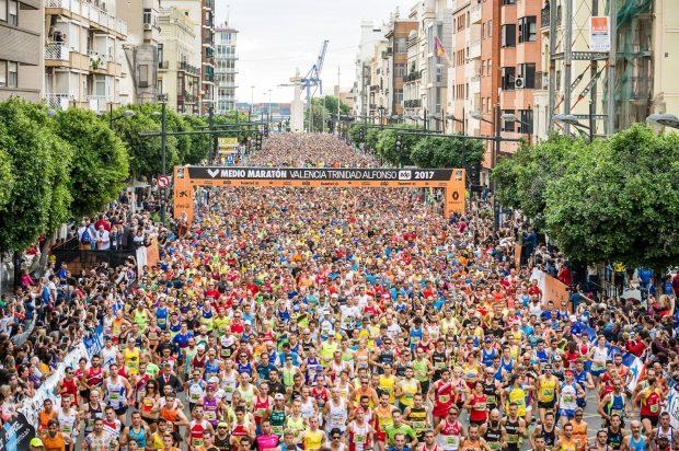 La Mitja Marató de València supera els seus rècords