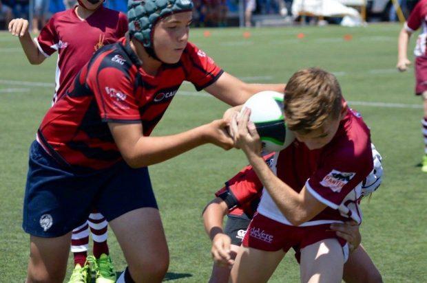 El rugby vuelve a ser el deporte estrella en la cuarta MiniOlimpiada ...