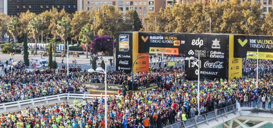 Maratón Valencia Trinidad Alfonso EDP + 10K Valencia Trinidad Alfonso EDP 2018