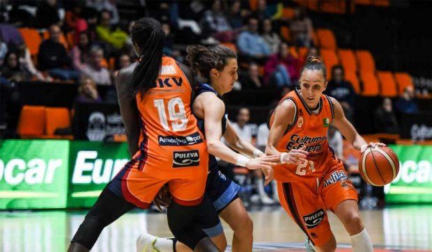 València, triada seu de la fase final de la Lliga Femenina 2 de bàsquet