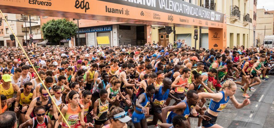 Mitja Marató València Trinidad Alfonso EDP 2018