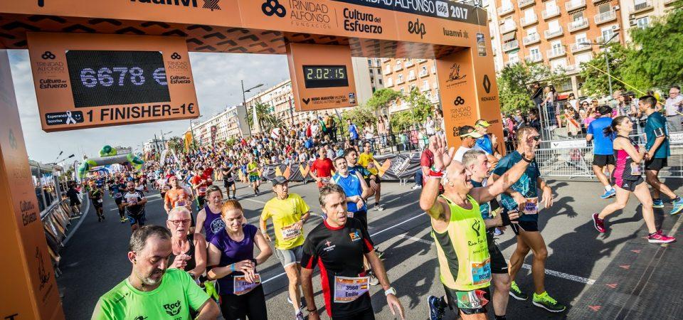 Medio Maratón Valencia Trinidad Alfonso EDP 2018