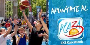 Plaza 3×3 Caixabank, bàsquet i diversió en la Plaça de l'Ajuntament