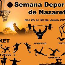 I Semana Deportiva-Cultural del Barrio de Natzaret