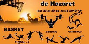 La I Setmana Esportiva i Cultural del barri de Natzaret ofereix activitats gratuïtes per a totes les edats