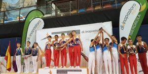 El Club Antares València se alza con 27 medallas en el Campeonato de España de gimnasia artística
