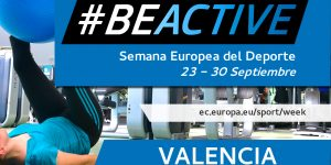 No te pierdas ni una de las actividades de la Semana Europea del Deporte #BeActive