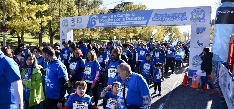 """Carrera y Caminata Solidaria por la Diabetes """"Actívate por la Diabetes"""""""