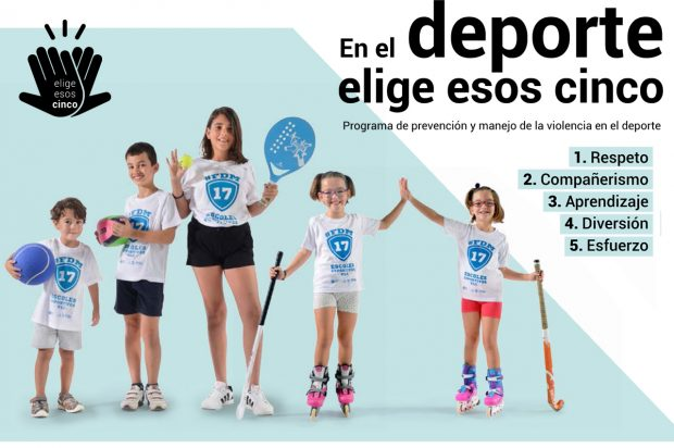 Talleres para padres y madres: ¡stop a la violencia en el deporte!