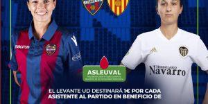 El Llevant UD-Valencia CF de la Lliga Iberdrola es disputa el diumenge en el Ciutat de València