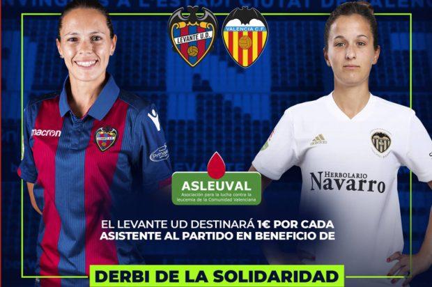 El Levante UD-Valencia CF de la Liga Iberdrola se disputa el domingo en el Ciutat de València