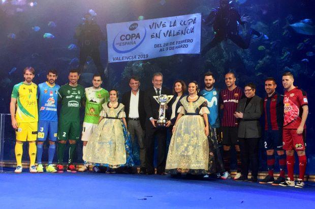 Copa d'Espanya de Futbol Sala: ja es coneixen els emparellaments