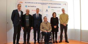 La XLI Copa de S.M  el Rey de Baloncesto en silla de ruedas se jugará en València