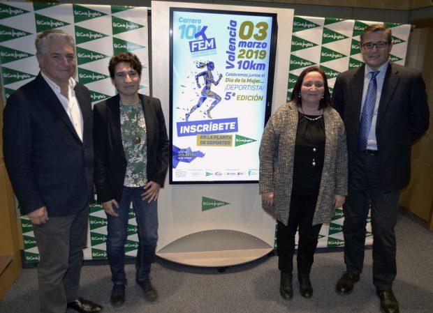 La Carrera 10KFem Valencia presenta su quinta edición