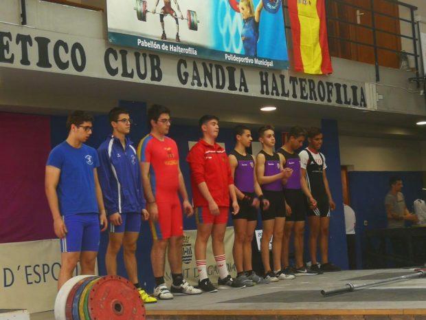 Medio centenar de halteras valencianos participan el sábado en el Campeonato Junior