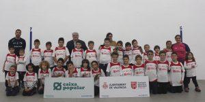 Los XXXVII Juegos Deportivos de raspall de las Escuelas Municipales de Valencia cierran su primera fase este fin de semana