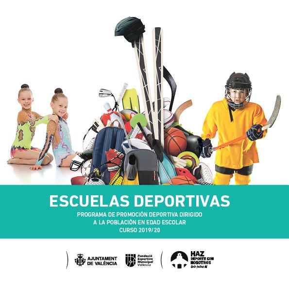 Escuelas Deportivas, programa de promoción deportiva dirigido a la población en edad escolar curso 2019/20