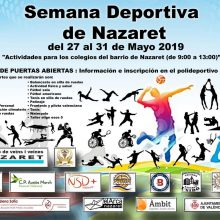 II Semana Deportiva del barrio de Natzaret