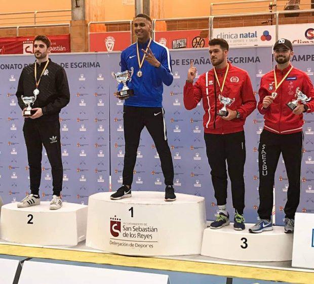 L'esgrima valenciana s'alça amb l'or en el Campionat d'Espanya Sènior