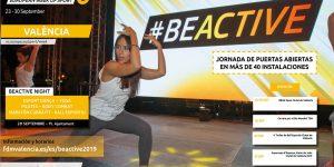 Actividades de la Semana Europea del Deporte #BeActive2019