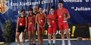 El València Club d'Halterofília aconsegueix les millors marques del Campionat Sub-15 de la Comunitat Valenciana