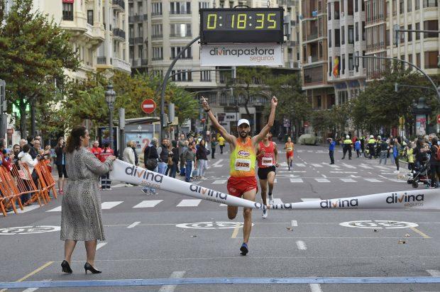 Alberto López Barceló guanyador del Circuit Divina Pastora de València