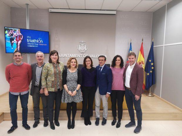 València acollirà en 2020 la penúltima prova de la ITU Triathlon World Cup