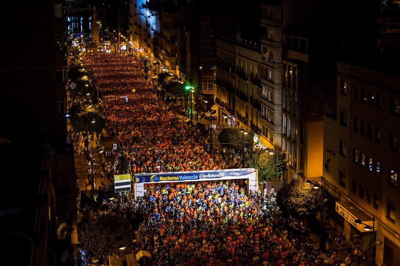 La 15K Nocturna València vuelve a València el 18 de septiembre