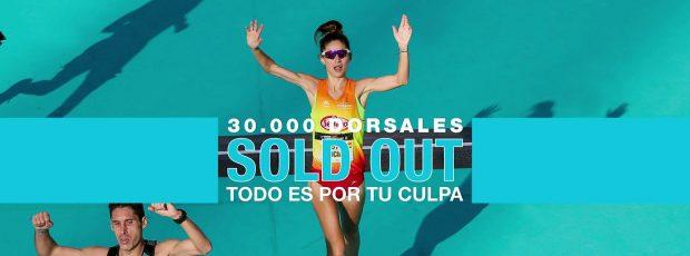 La prova ha tancat les inscripcions a deu mesos de la seua celebració i obrirà en uns dies llista d'espera per a corredors interessats. Per a la Mitja Marató València queden unes 1.500 places.