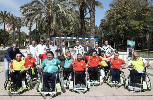 """""""Esport adaptat com a via d'inclusió"""", jornada per a la visibilització de l'esport adaptat en la Plaça de l'Ajuntament de València el pròxim 15 de febrer"""