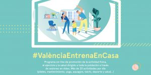 #ValènciaEntrenaEnCasa ¡A tope a por el sábado! Sábado 30 de mayo. Actividades Acuáticas Adaptadas