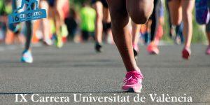 Ya puedes participar en la IX Carrera Universitat de València de manera virtual!