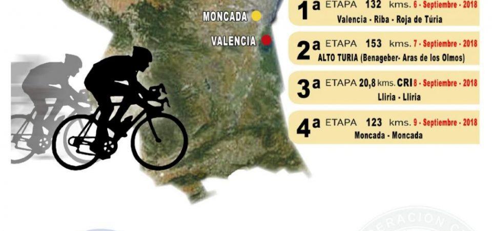 Cartel X Volta Ciclista a la Provincia de València