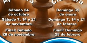 Arrancan los Juegos Deportivos Municipales de ajedrez